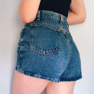 Vintage J Crew Highwaisted Mom Shorts